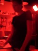 Rachel Holland in the darkroom